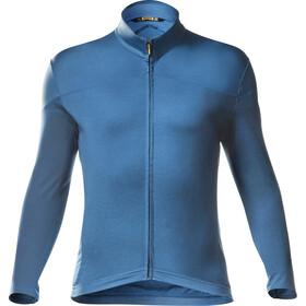 Mavic Cosmic Plain Langærmet cykeltrøje Herrer, lyons/fjord blue